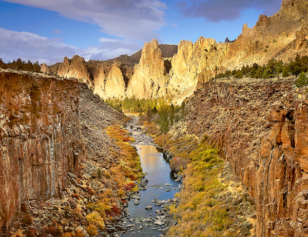 """Pinnacles of Light"", Smith Rock State Park"